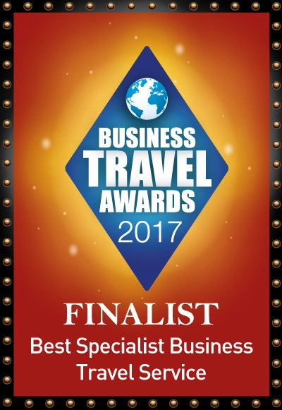 Business Travel Awards 2017 - Finalist Best Specialist Business Travel Service