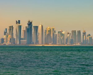 By Francisco Anzola (Doha skyline in the morning) [CC BY 2.0 (http://creativecommons.org/licenses/by/2.0)], via Wikimedia Commons