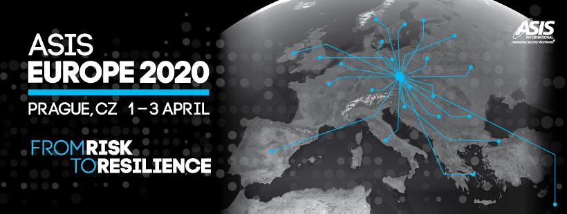 ASIS EUROPE 2020. Prague, CZ 1-3 April